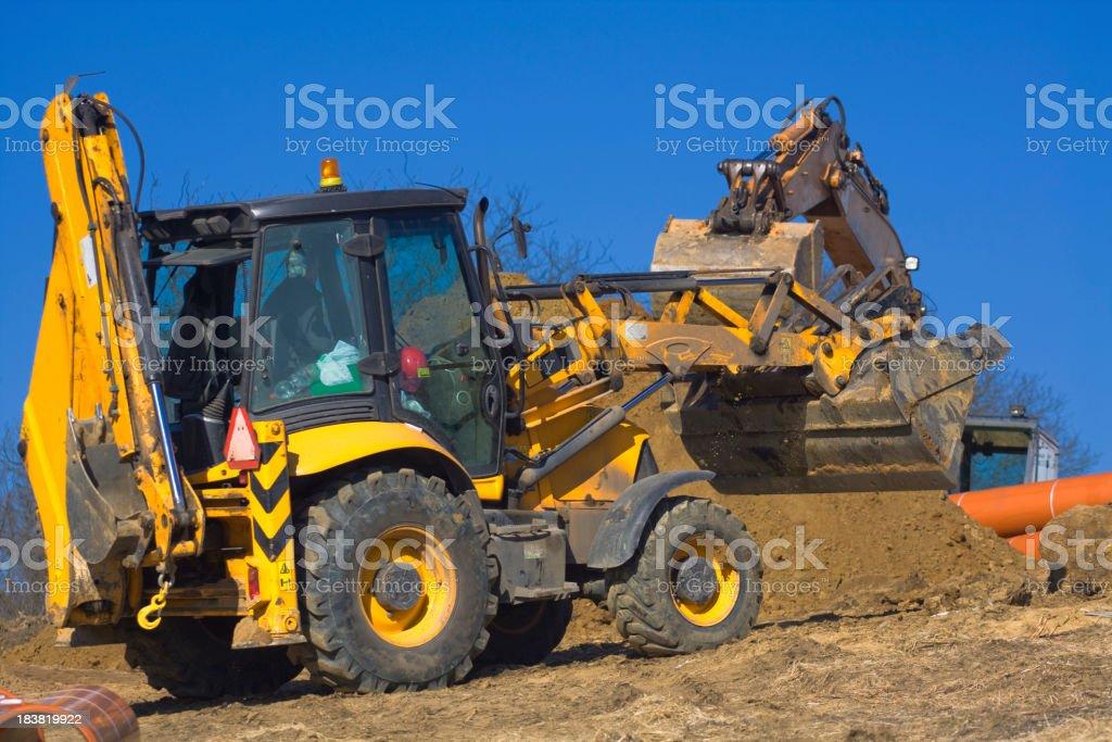 Construction Vehicles royalty-free stock photo