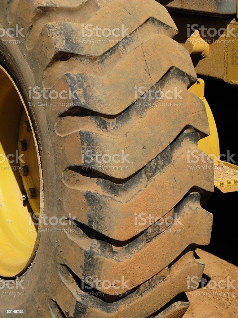 Construction Wheel Equipment royalty-free stock photo