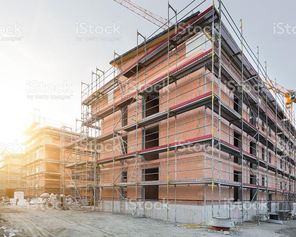 Construction work, Germany stock photo
