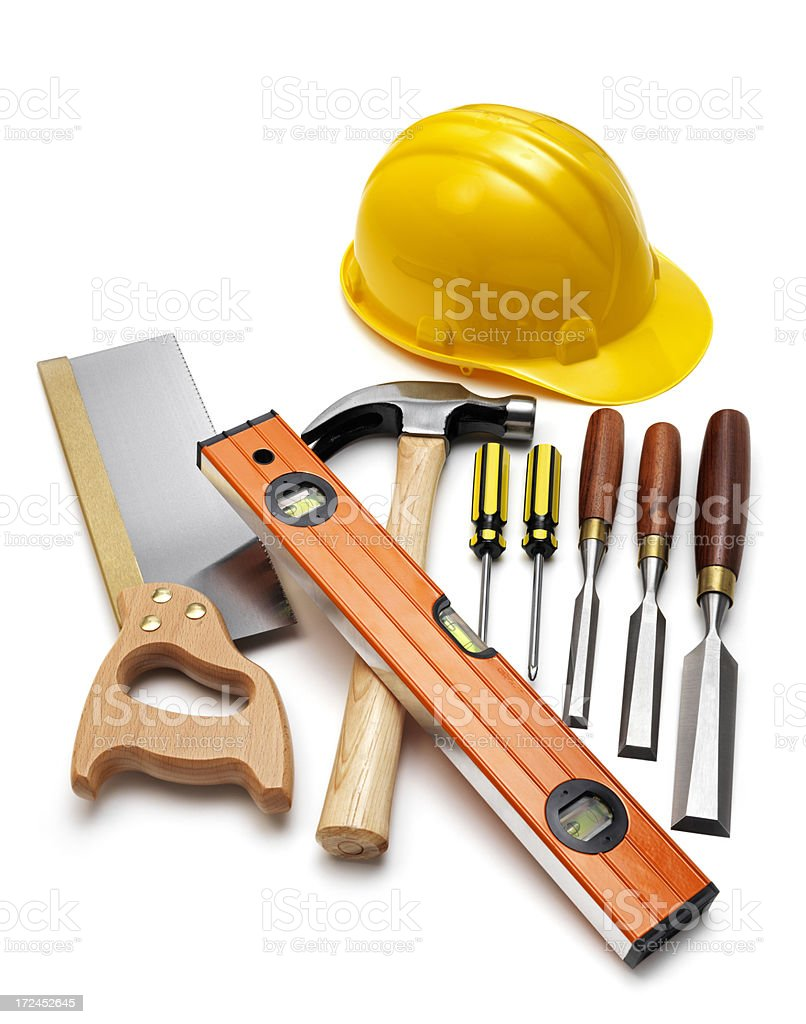 Construction Work Kit royalty-free stock photo