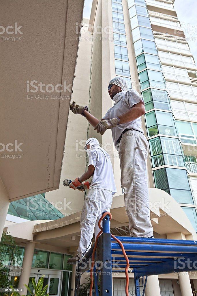 Construction Work royalty-free stock photo