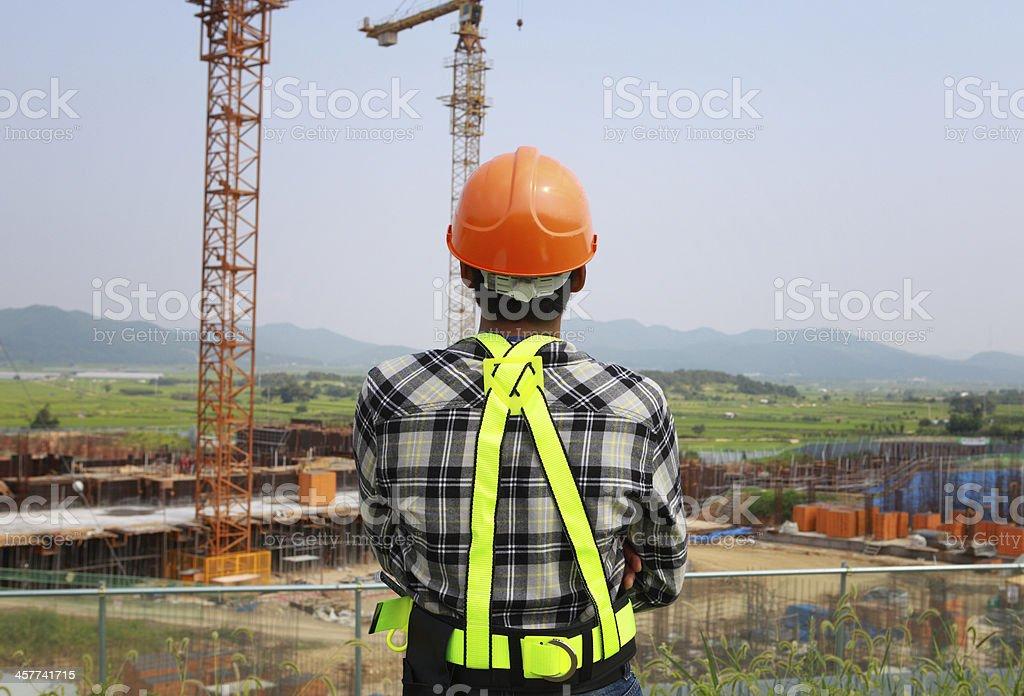 Bauarbeiter Lizenzfreies stock-foto