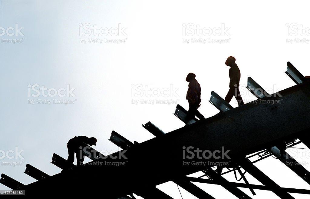 Construction workers in Vietnam XXL #2 stock photo