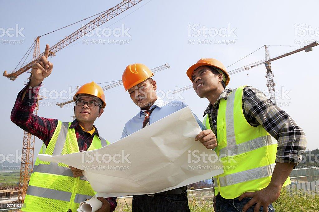 Construction Arbeiter Lizenzfreies stock-foto