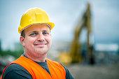 Construction Worker's Portrait