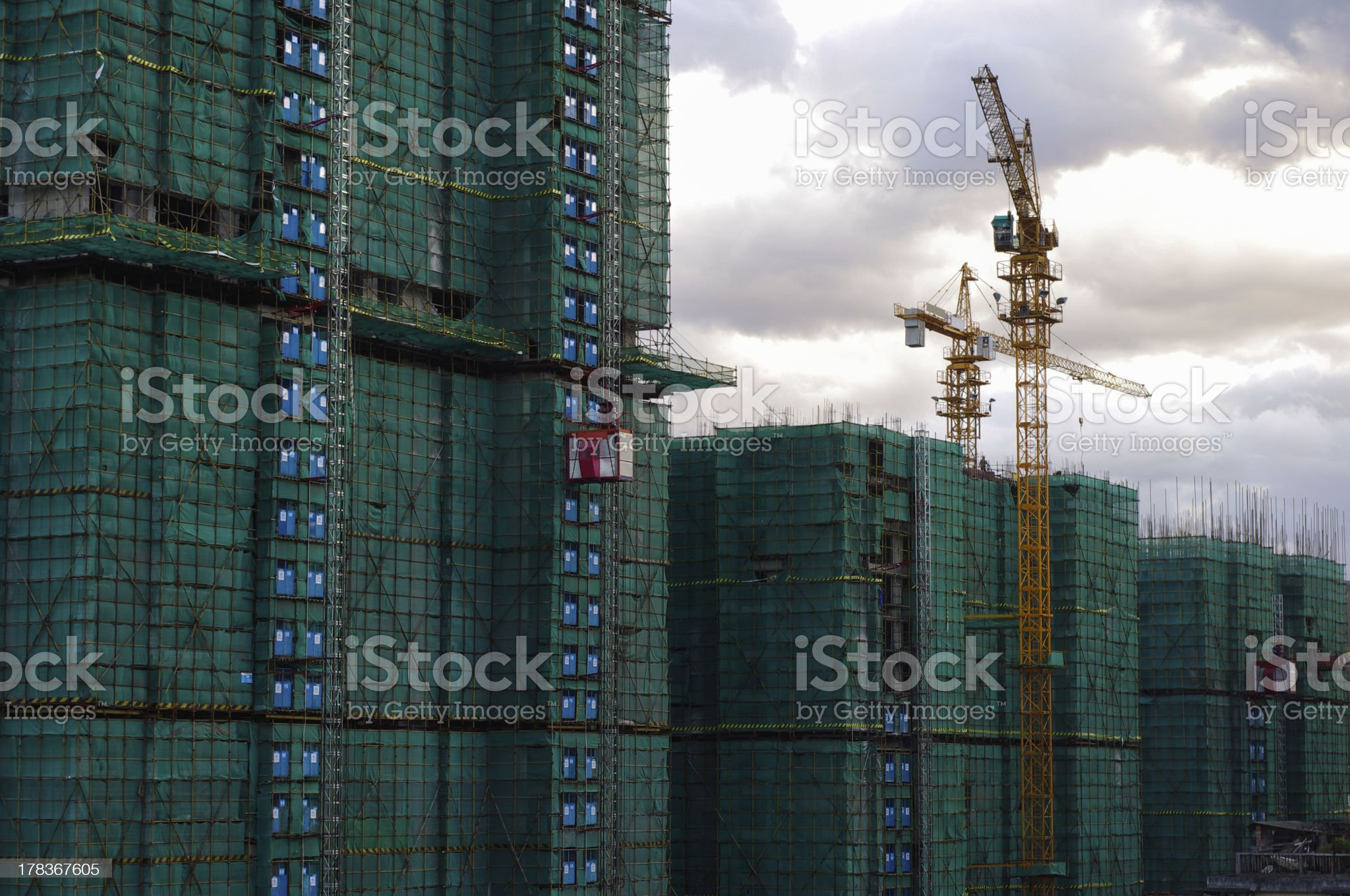 Construnction site royalty-free stock photo