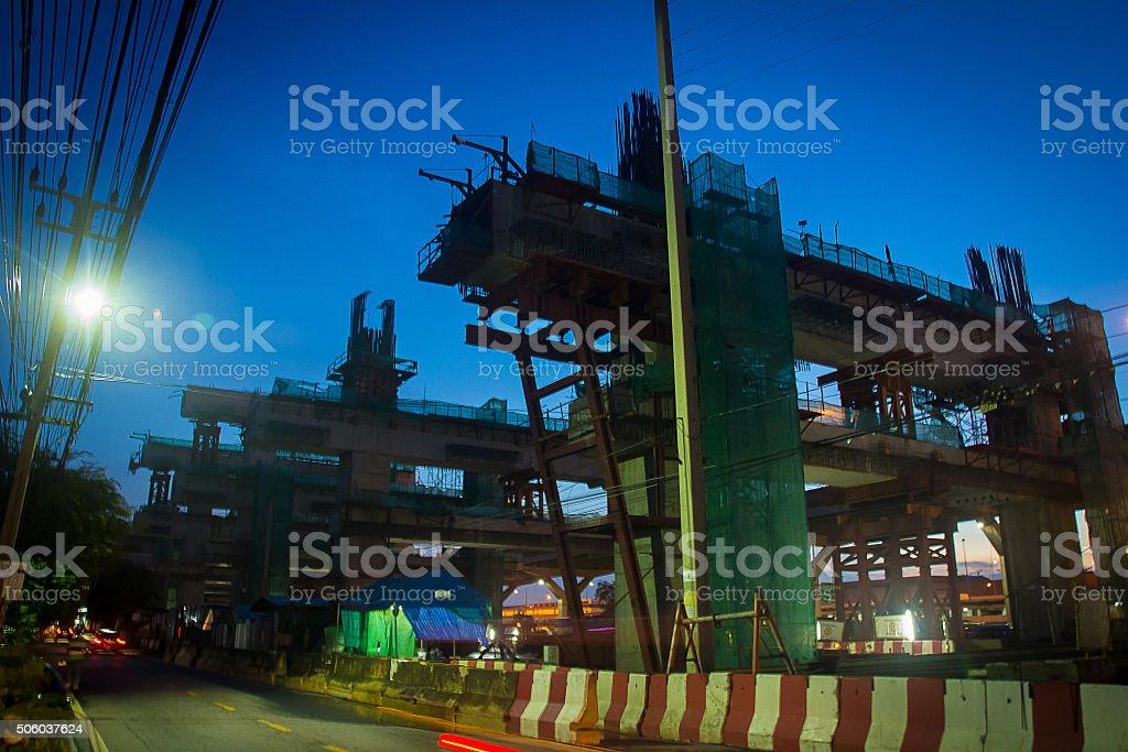 constuction city stock photo
