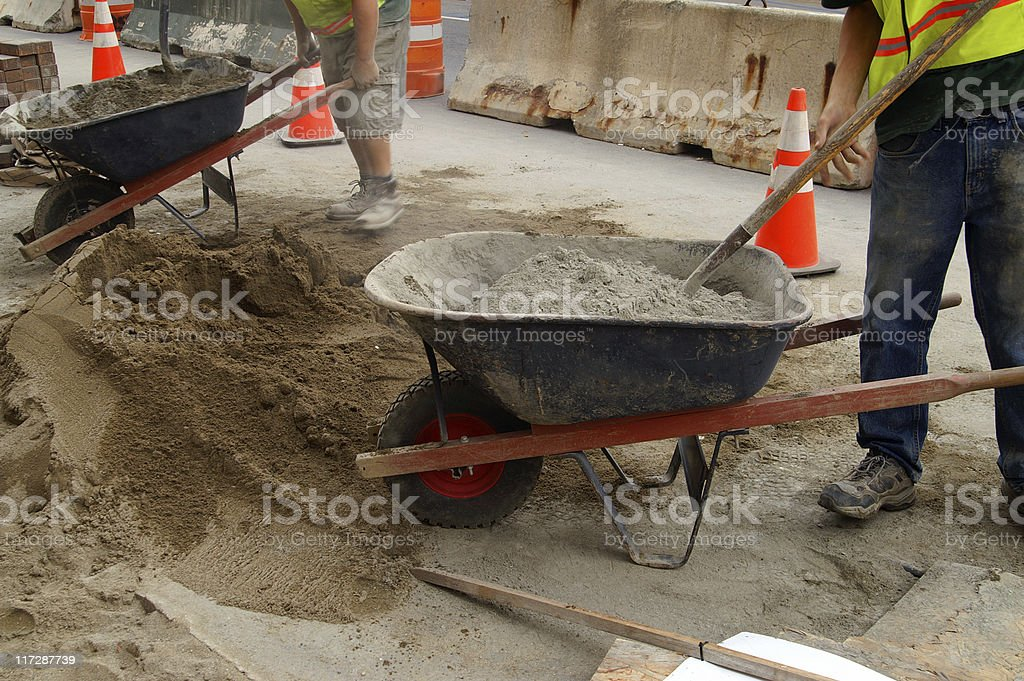 Constuction Work royalty-free stock photo