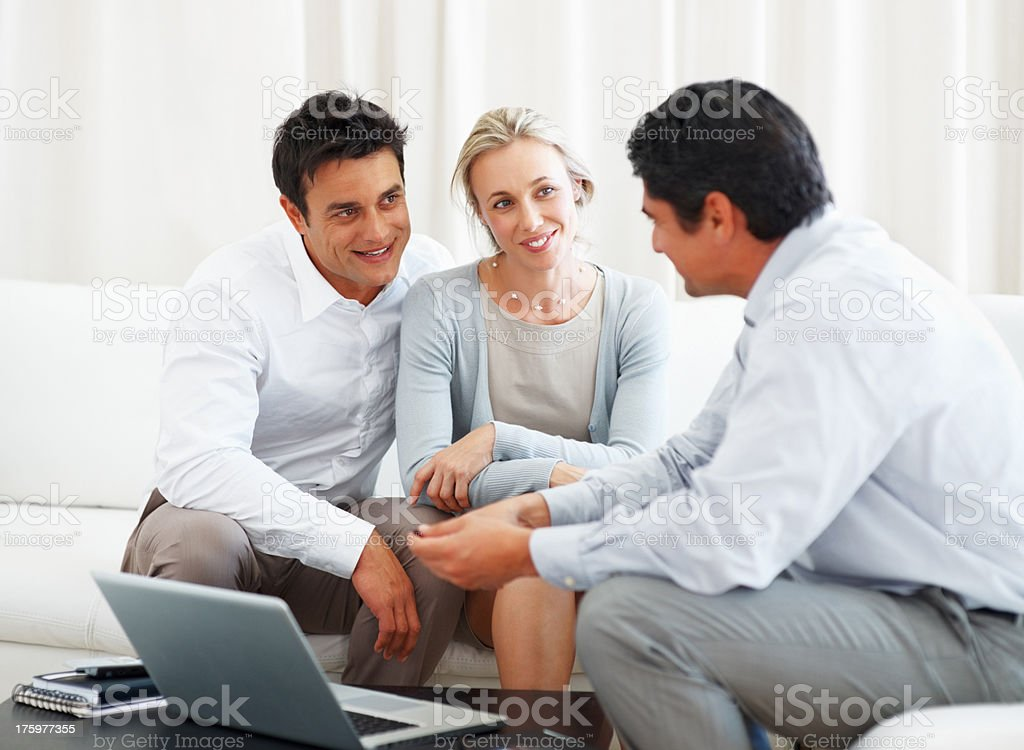 Consultancy plans stock photo