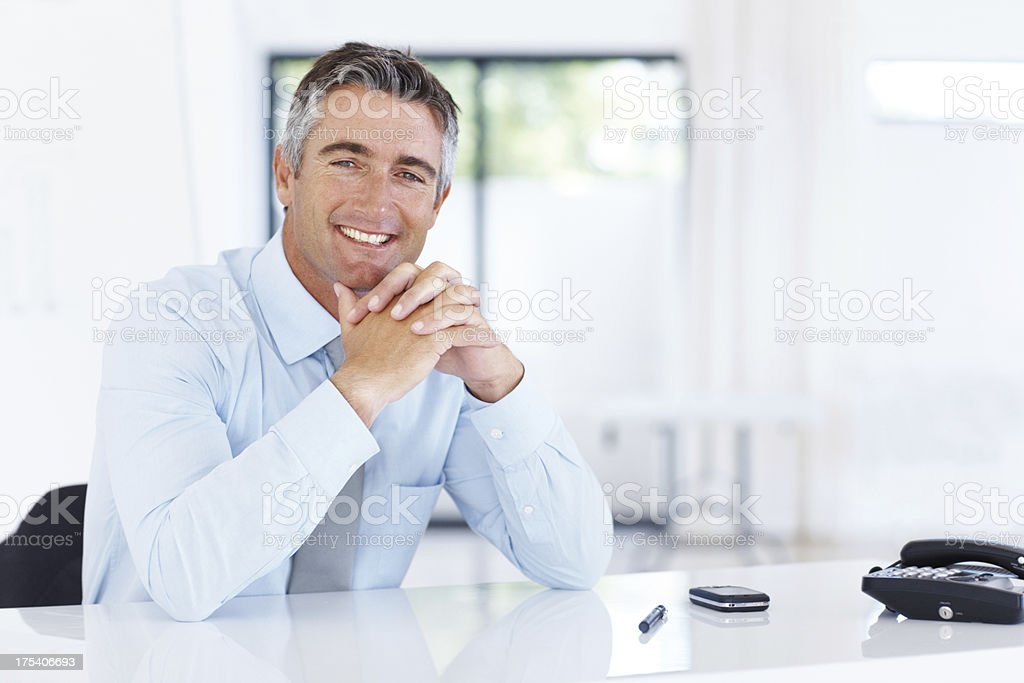 Consultant that you can trust royalty-free stock photo