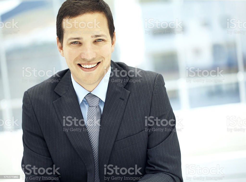 Consultant you can trust! stock photo