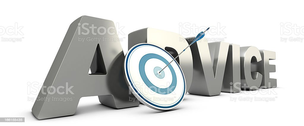 Consulting, Advice Concept royalty-free stock photo