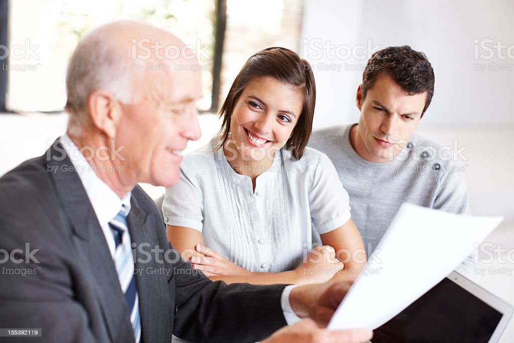 Consulting like a pro royalty-free stock photo
