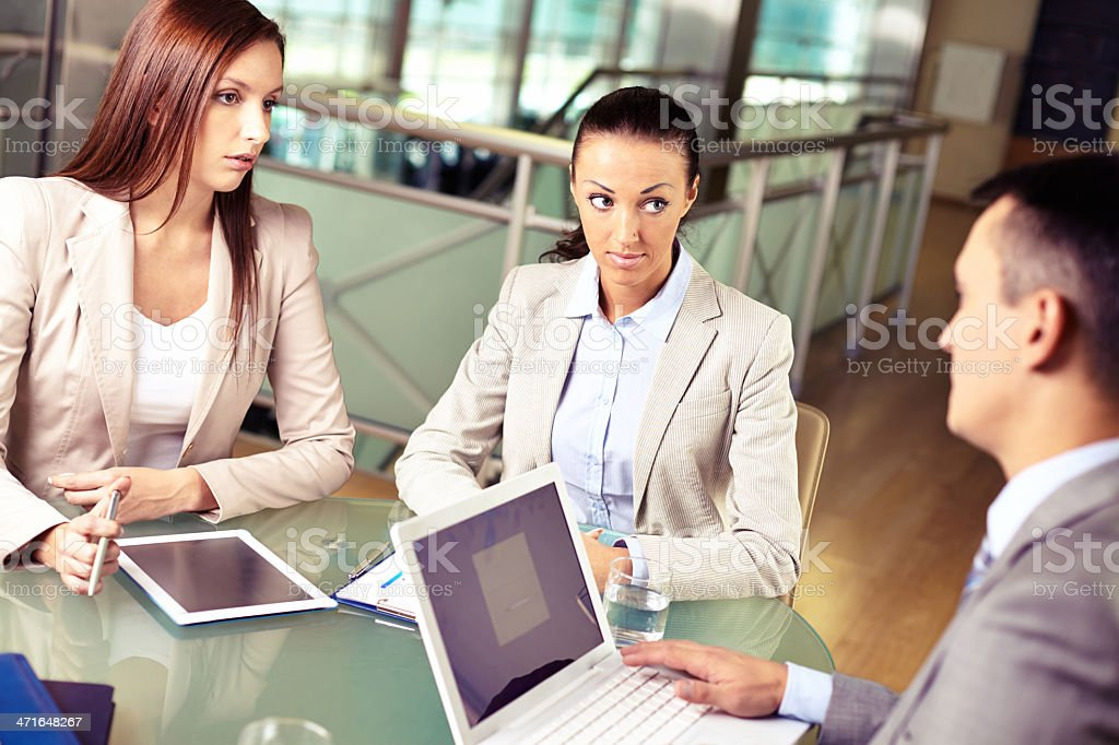 Consulting royalty-free stock photo