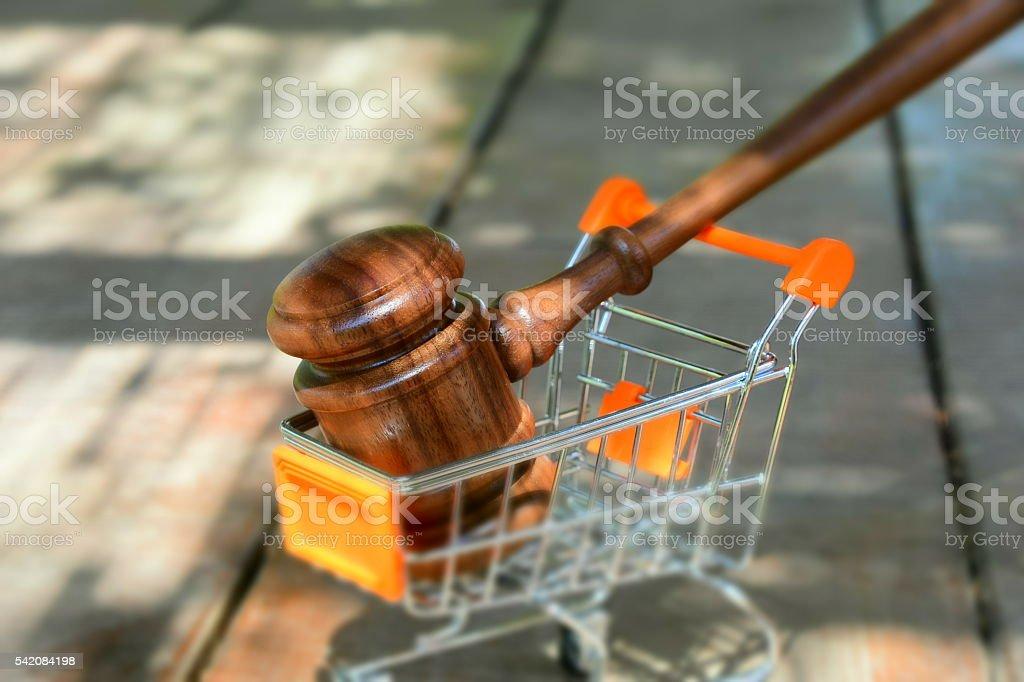 Consumer affairs stock photo