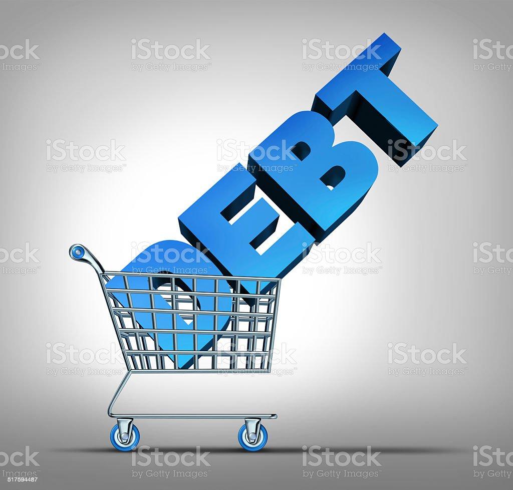 Consumer Debt stock photo