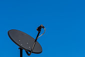 Consumer KU band satellite dish