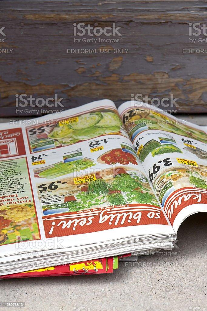 Consumer Paper stock photo