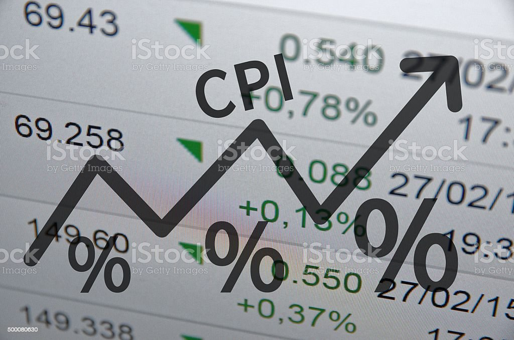 Consumer Price Index stock photo