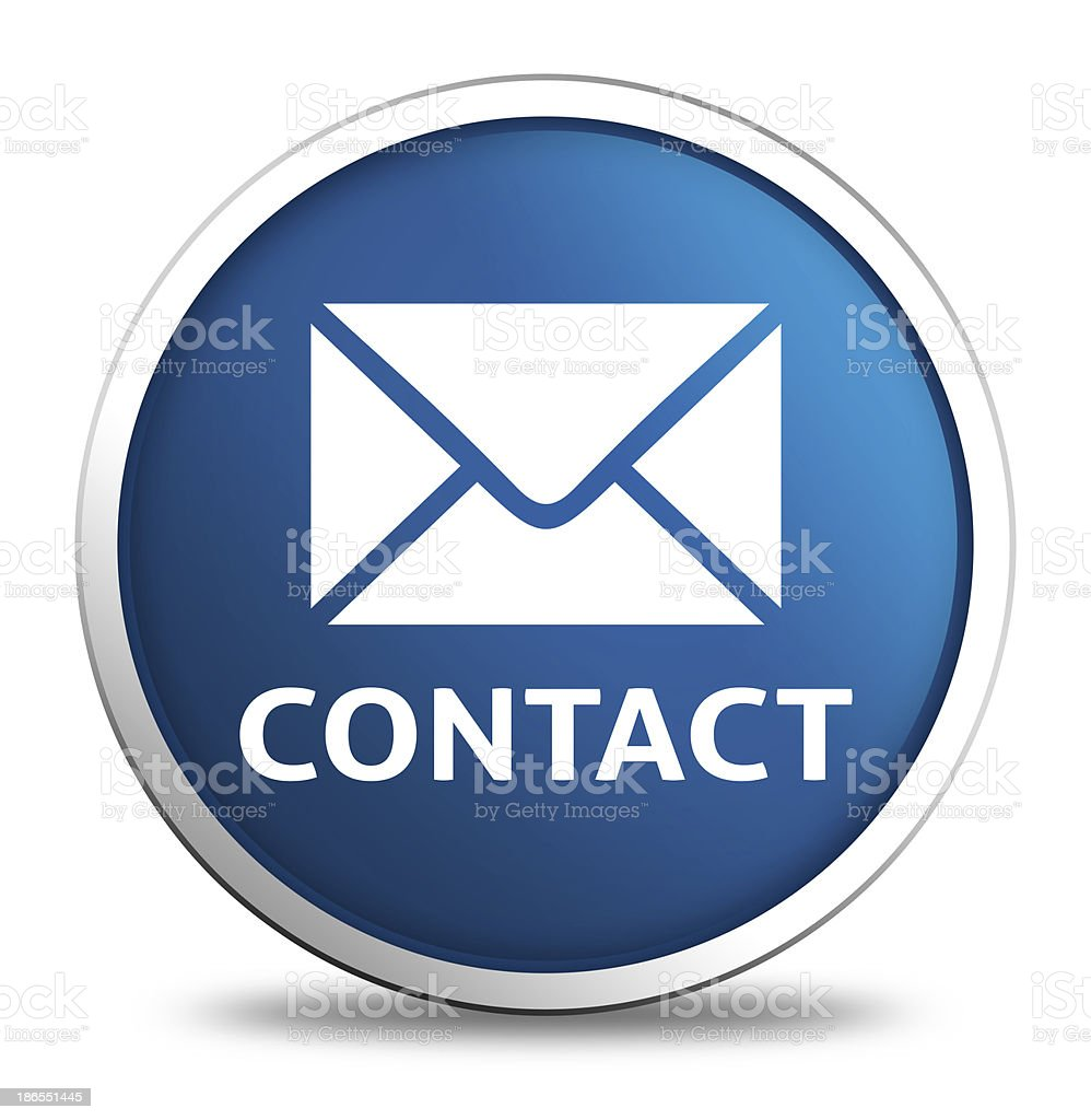 contact icon royalty-free stock photo