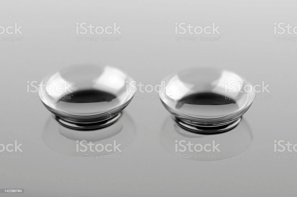 Contact lenses royalty-free stock photo