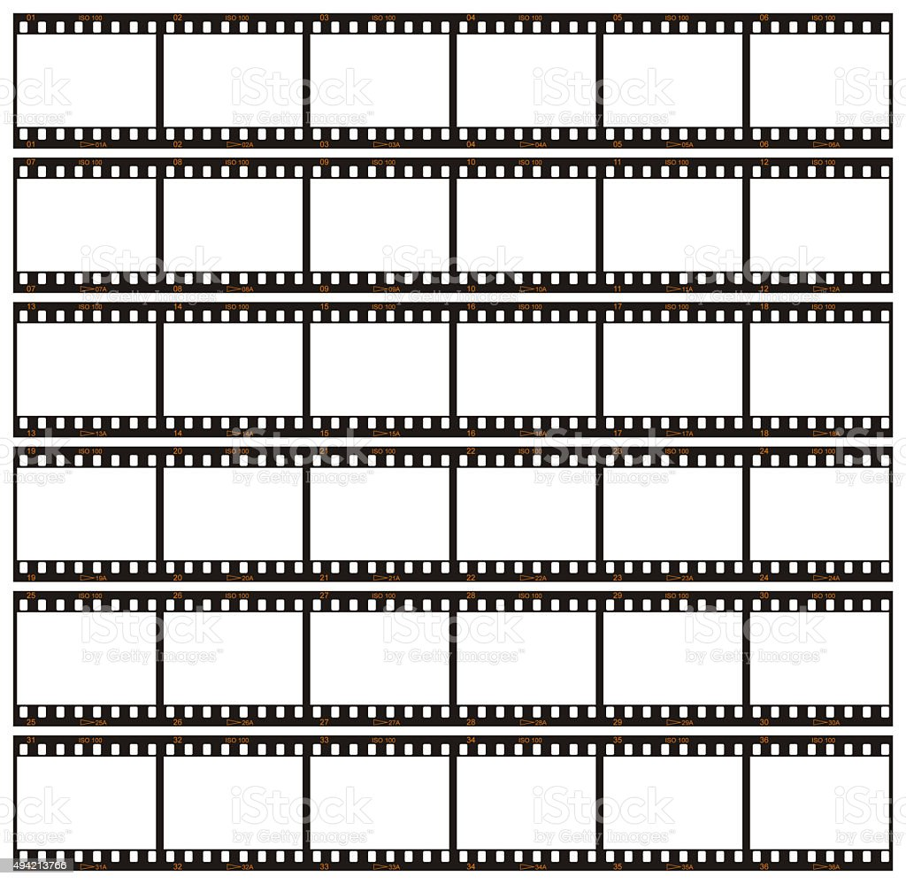 Contact Sheet stock photo