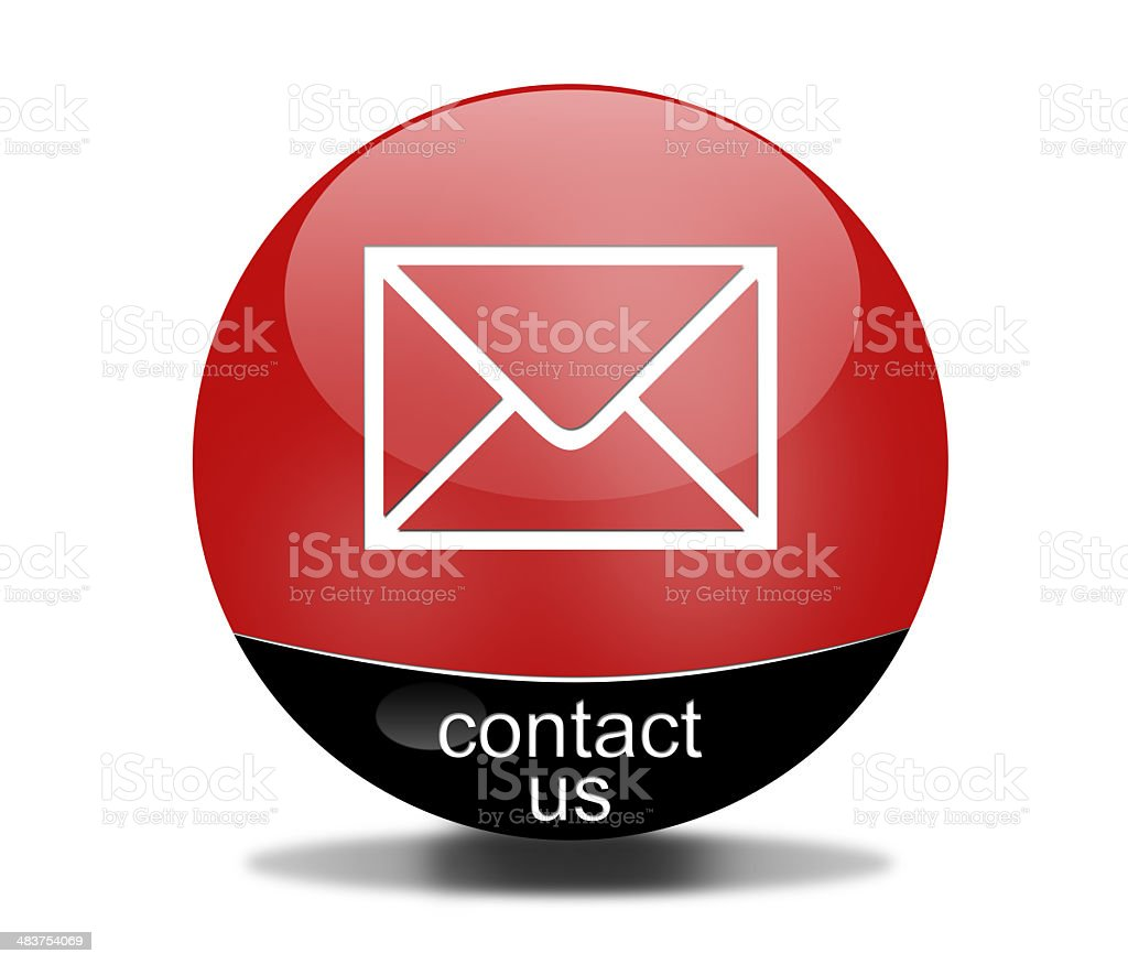 contact sign royalty-free stock photo