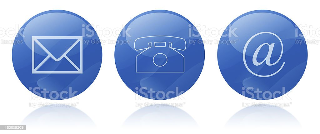 contact signs royalty-free stock photo