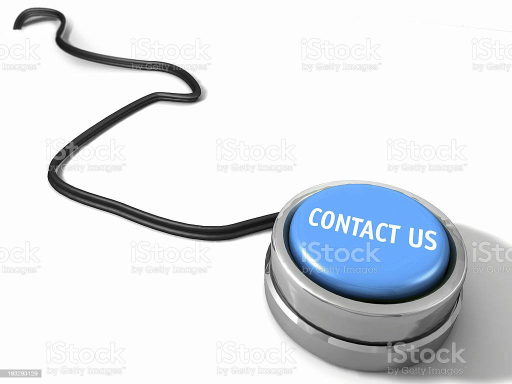 Contact Us Button royalty-free stock photo