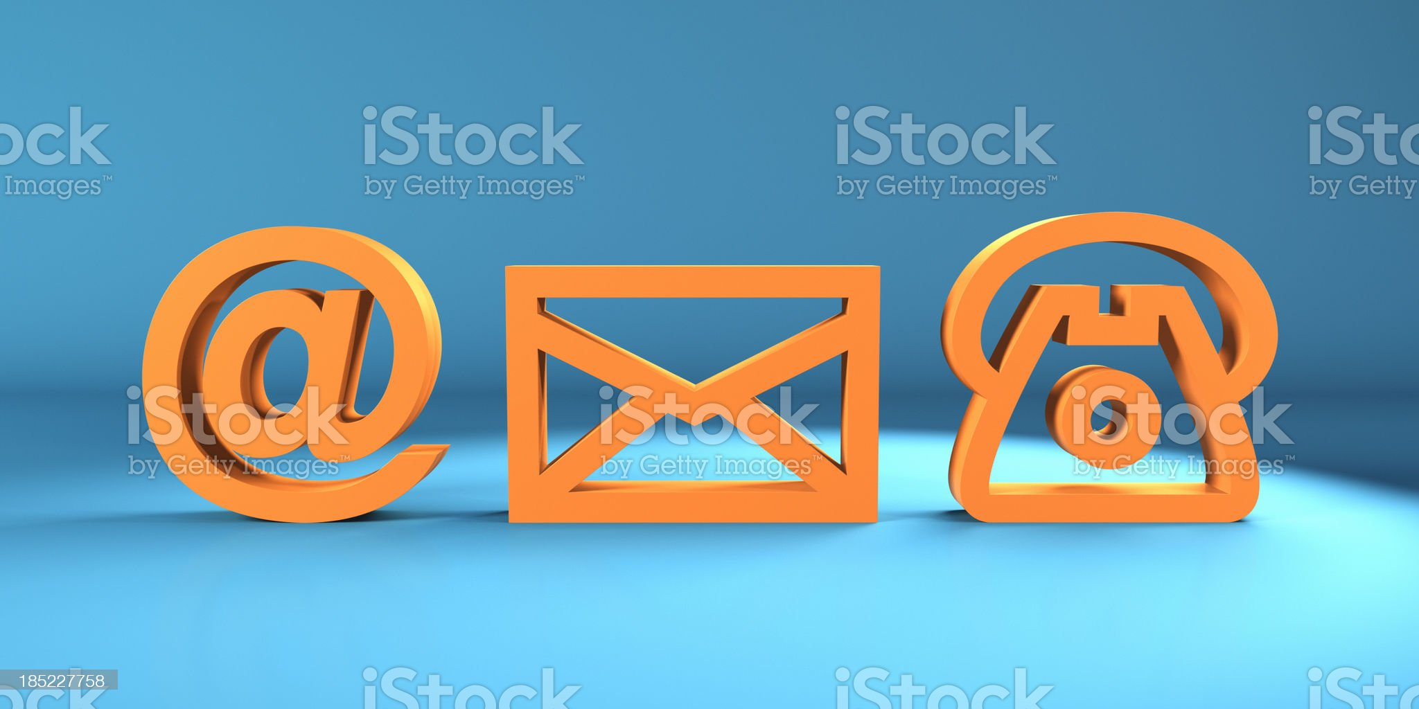 Contact Us royalty-free stock photo