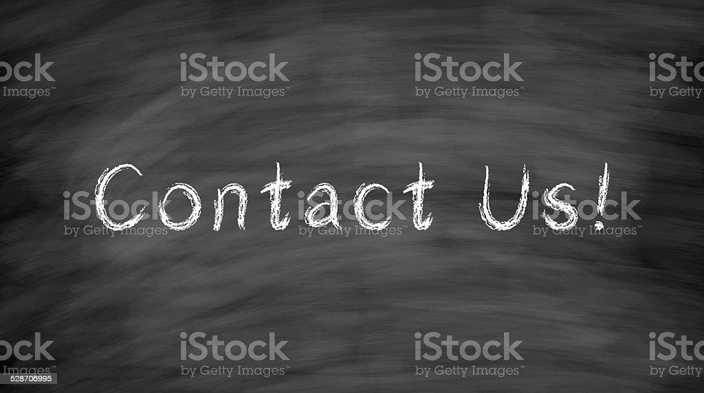 Contact Us stock photo