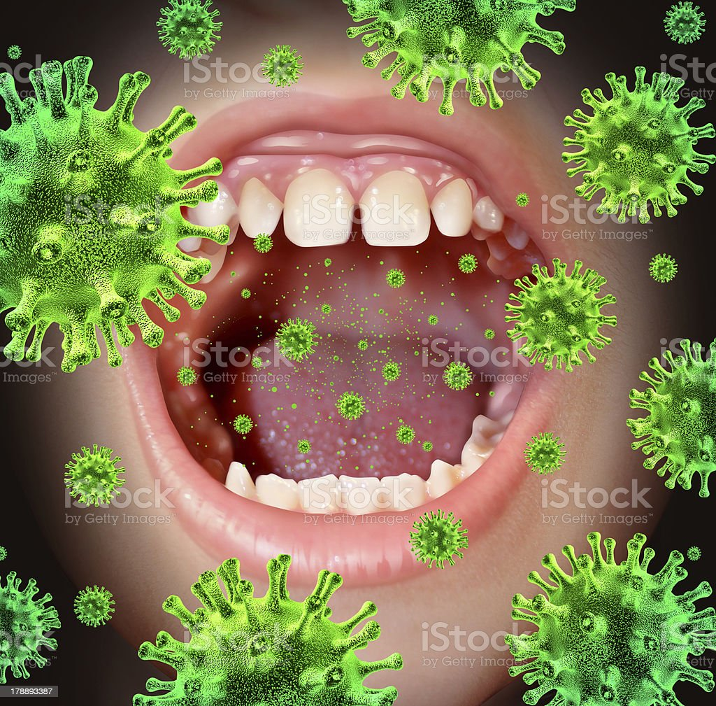 Contagious Disease royalty-free stock photo
