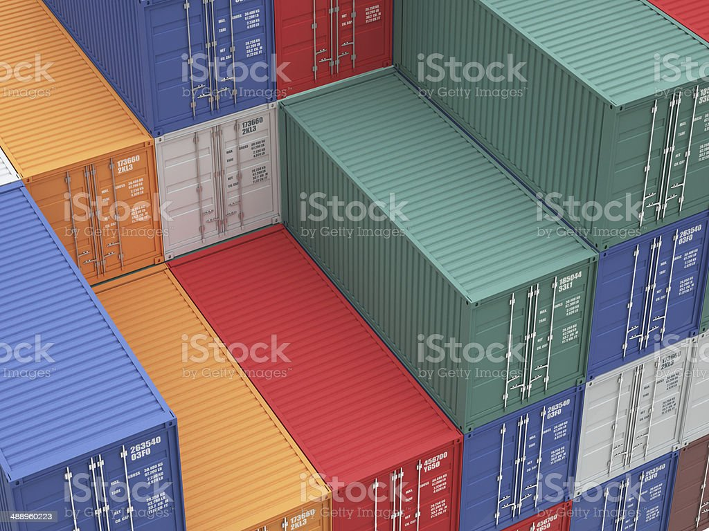 container background stock photo