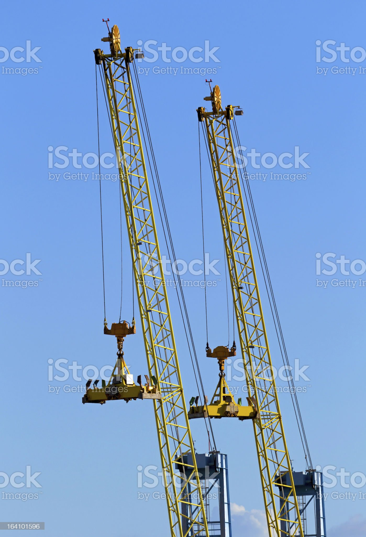 container crane royalty-free stock photo