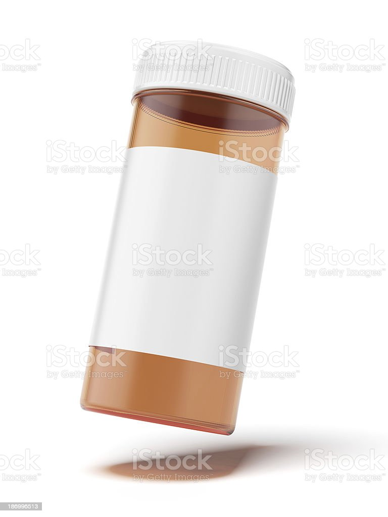 container for medicine stock photo