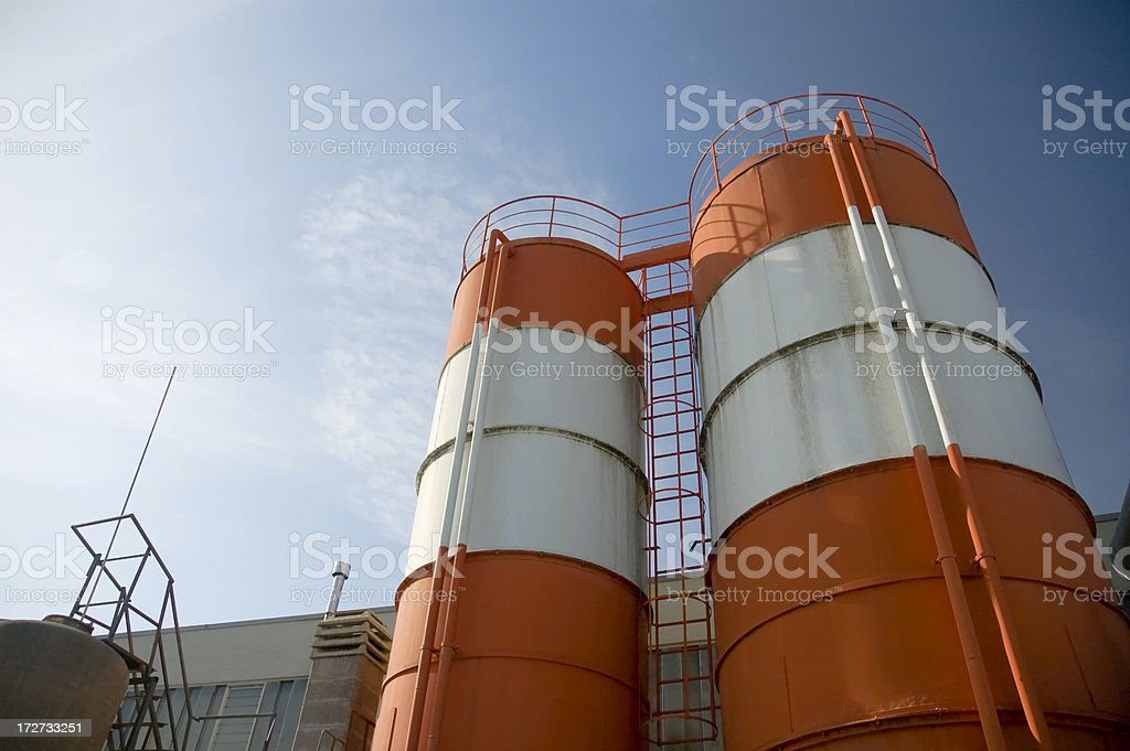Container Mechanic Company royalty-free stock photo