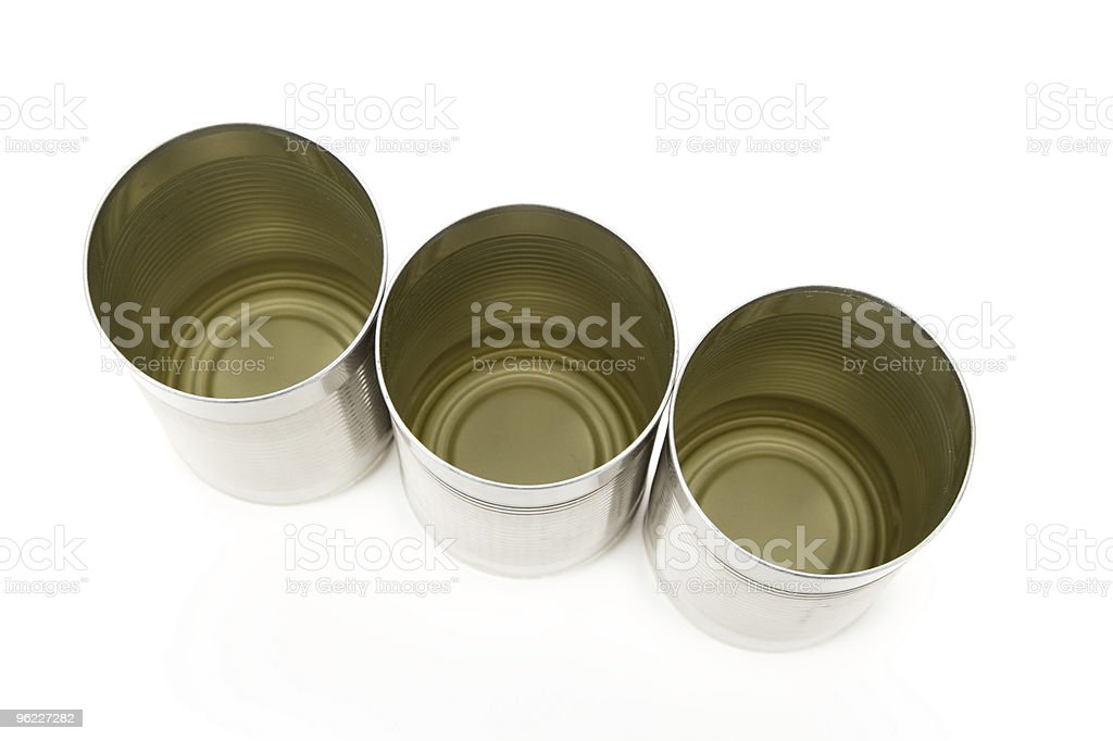 Tin container royalty-free stock photo