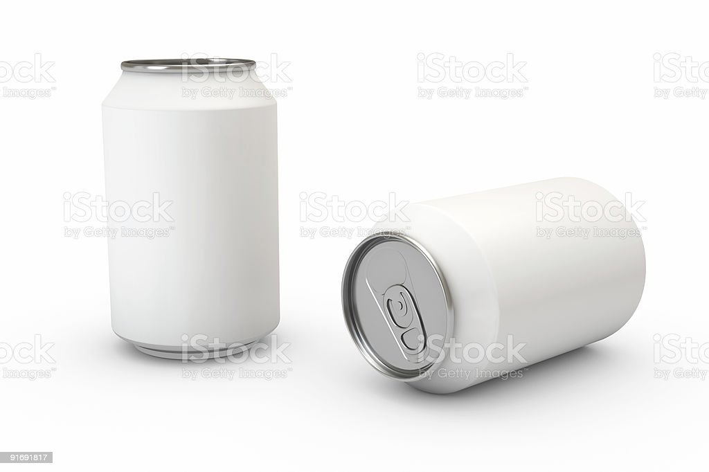 Container on White royalty-free stock photo