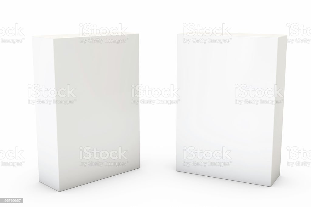 Container on White royalty-free stock vector art