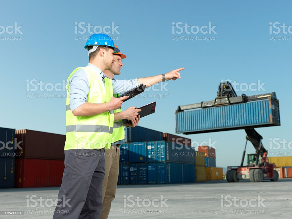Container Organization royalty-free stock photo