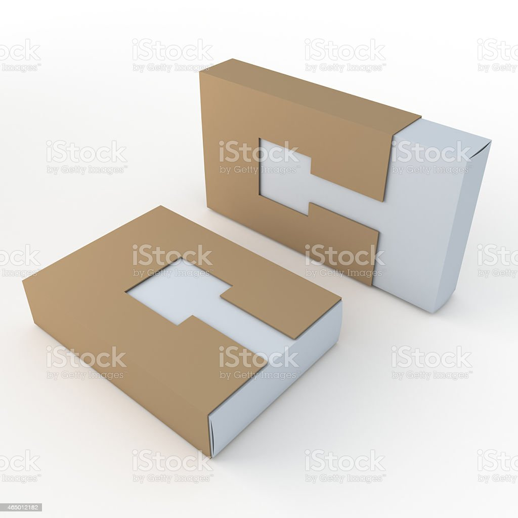 container products in isolated background with work paths stock photo