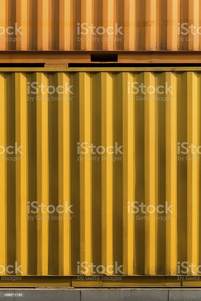 container side wall stock photo