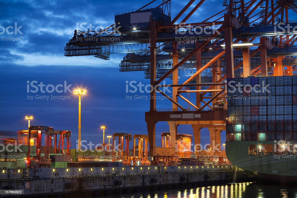Container Terminal royalty-free stock photo