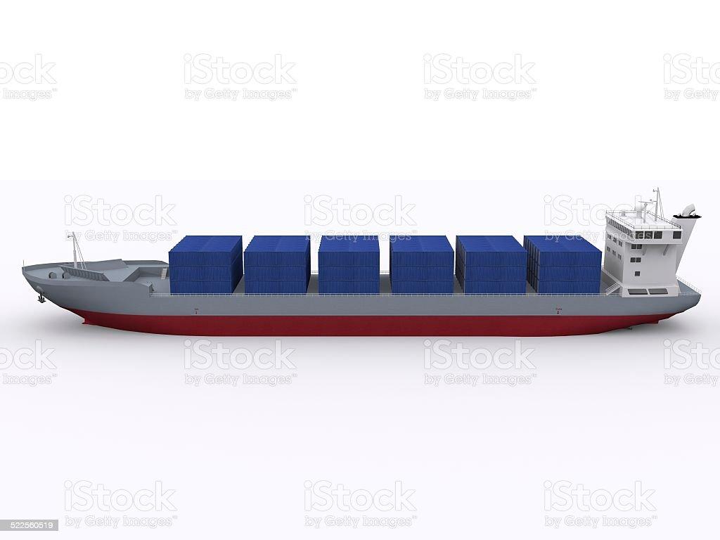 container vessel stock photo