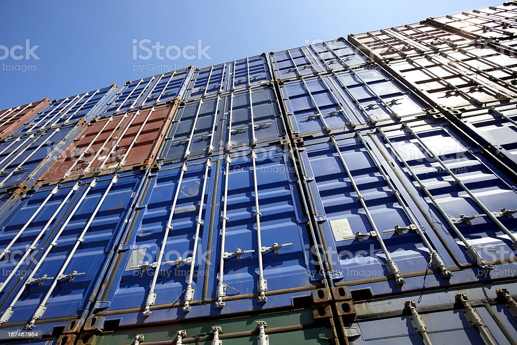 container wall royalty-free stock photo