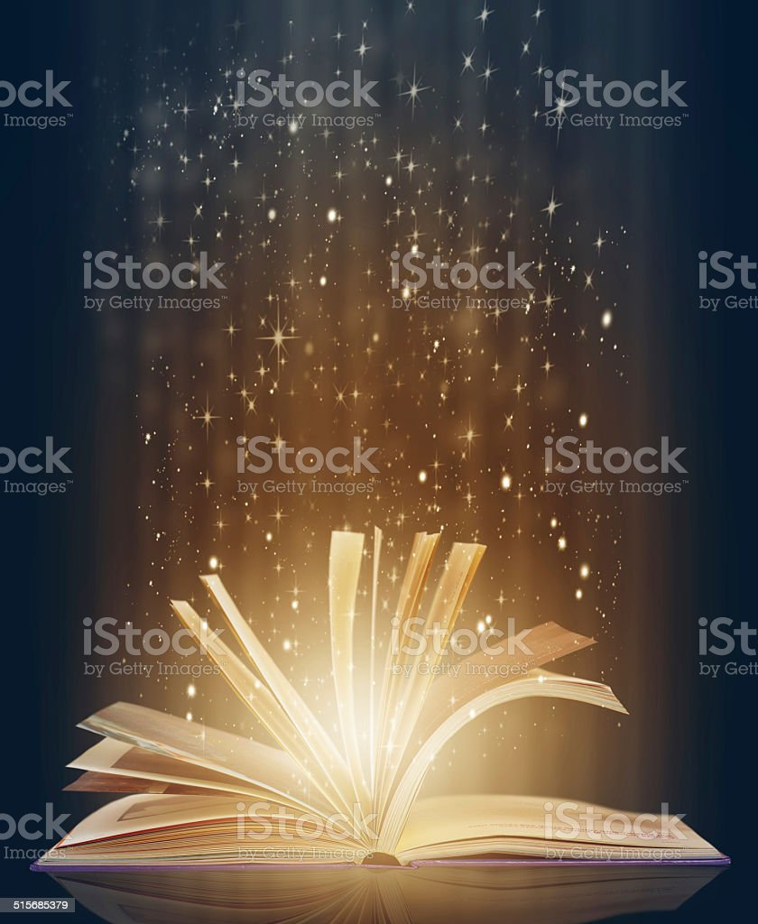 Containing a world of magic and mystery stock photo