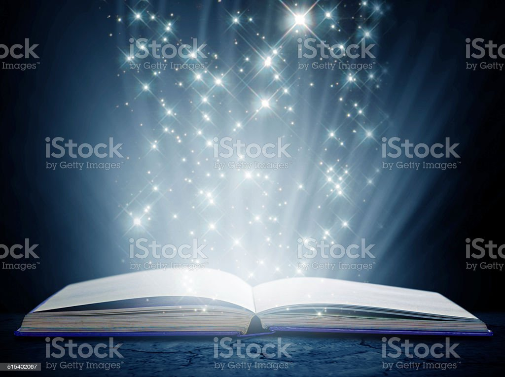 Containing a world of magic and wonder stock photo