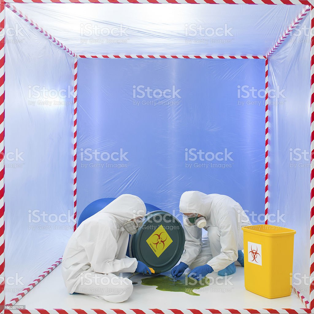 contamination risk stock photo