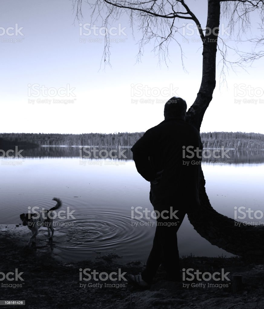 Contemplation. royalty-free stock photo