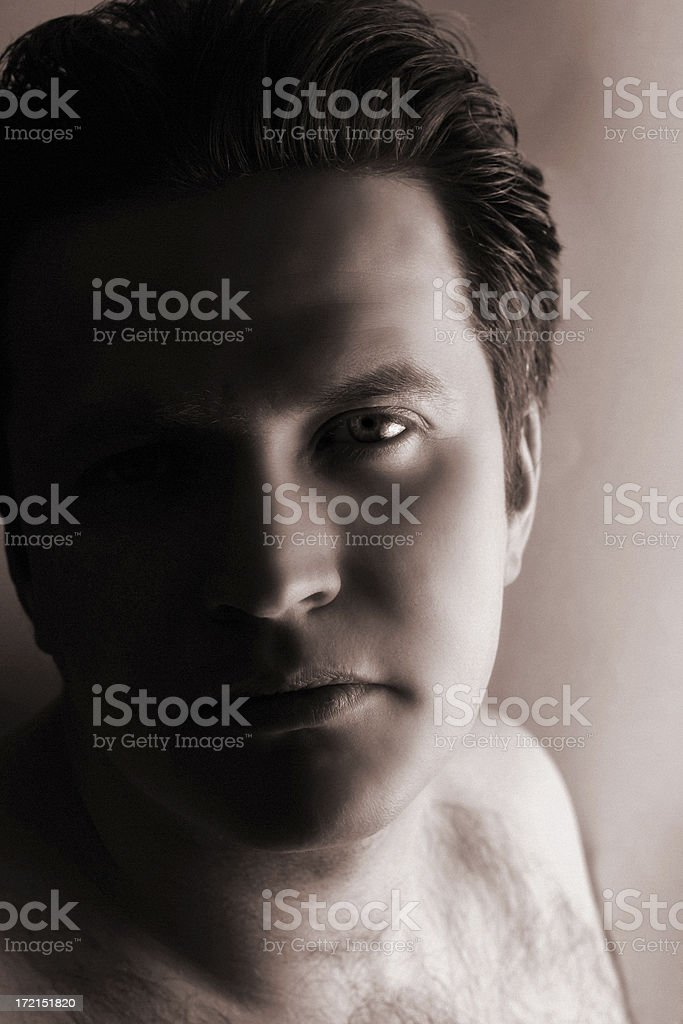 Contemplation royalty-free stock photo